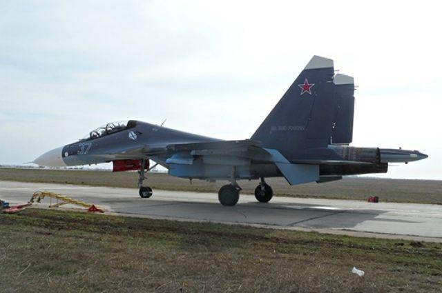 Два новейших истребителя СУ-30 СМ прибыли на Балтийский флот.