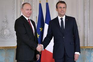 Путин и Макрон обсудили двусторонние отношения, Сирию и Украину