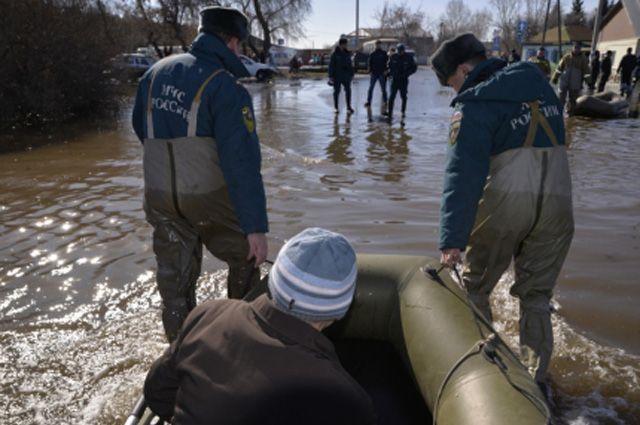 В Вагайском районе уровень воды в р. Ишим составляет 865 см