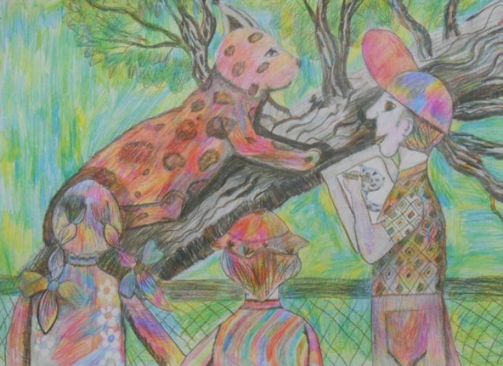 «Я рисую рысь»