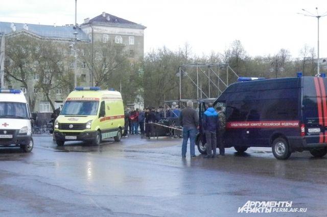 В ЧП пострадали восемь детей.