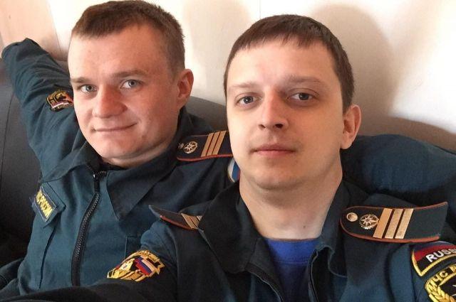В тот день у Станислава (справа) был выходной.