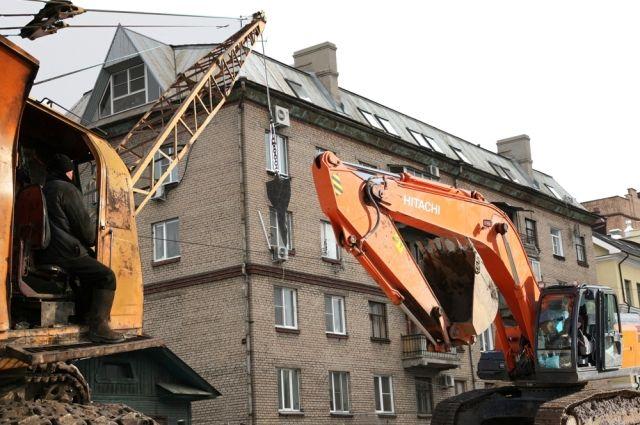 С начала года в краевой столице снесли 11 аварийных домов.