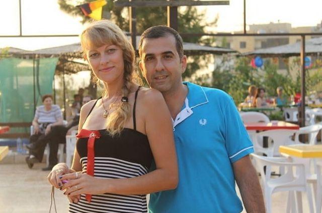 Ирина и Милад Моркос.