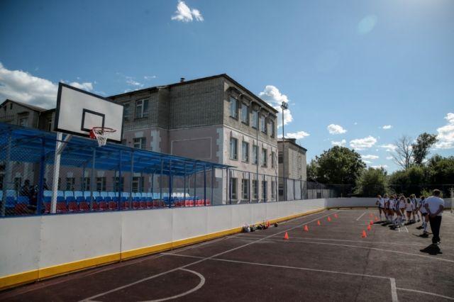 В Тюмени появится новая спортивная площадка с гимнастическим комплексом