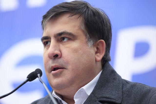 ВКиеве произошла потасовка между любителями Саакашвили иполицией