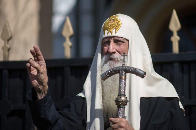 Предстоятель Русской православной старообрядческой церкви митрополит Корнилий (Титов).