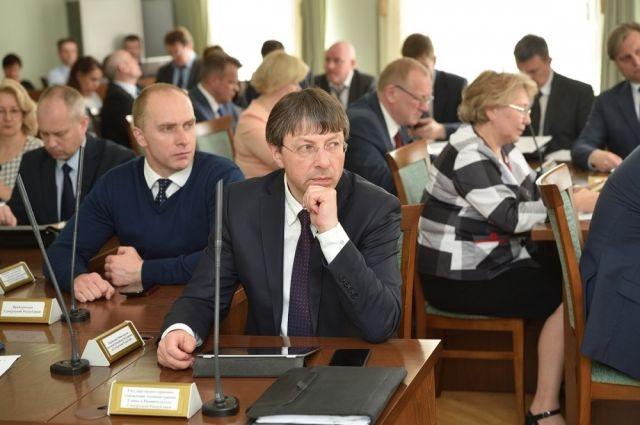 На заседании президиума Правительства Удмуртии.