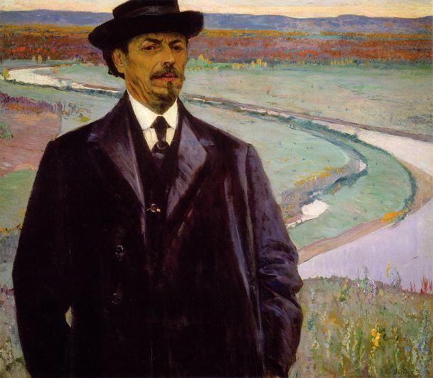 Михаил Нестеров, «Автопортрет» (1915).