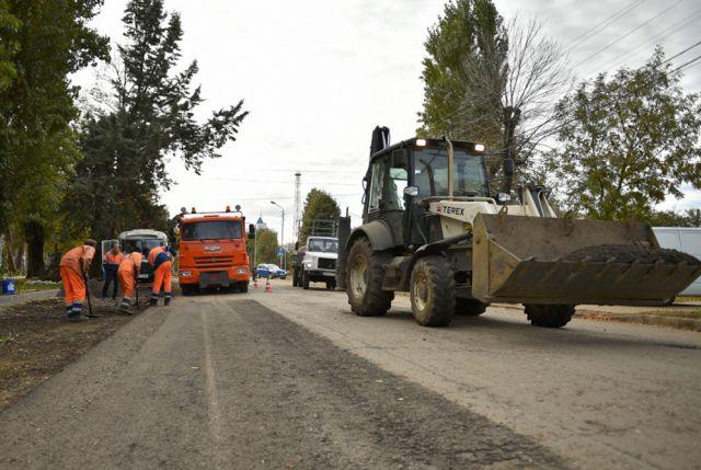 Омичи отметили, что после фрезерования дорога стала ровнее.