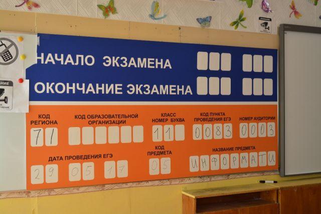 Ямальские выпускники сдают ЕГЭ по математике.