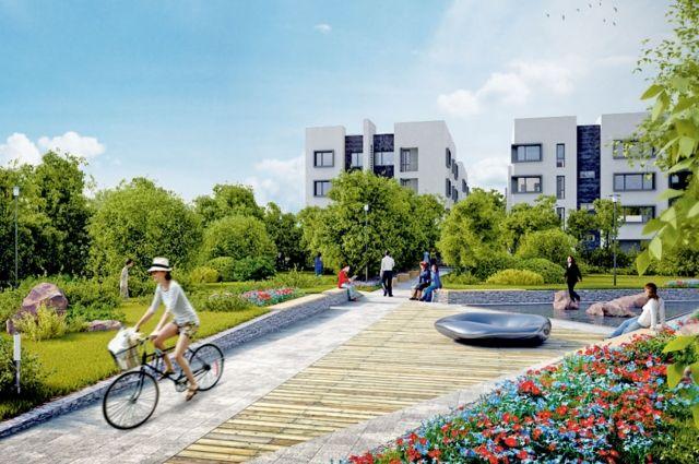 Жить за городом можно в гармонии с природой и с бытовым комфортом.