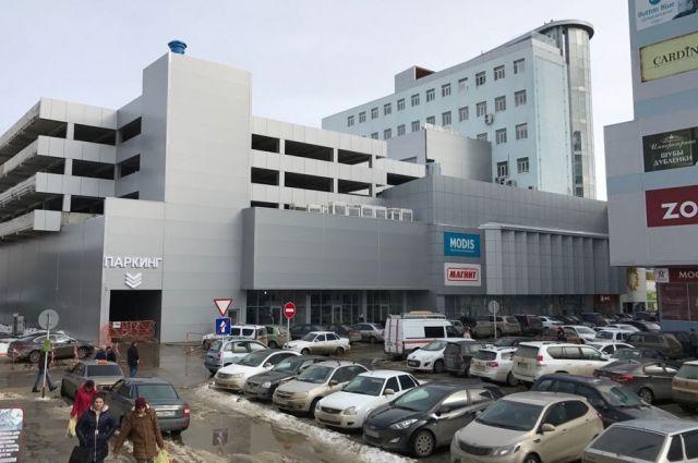 Вцентре Ставрополя заработала бесплатная многоуровневая стоянка
