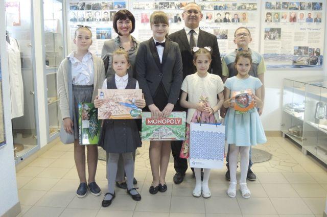 В музее водоканала прошло награждение победителей 2-го общегородского конкурса сочинений на тему «Берегите воду!».