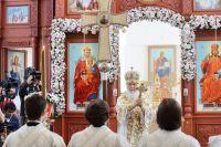 Освящение Воскресенского кафедрального собора в Бишкеке.