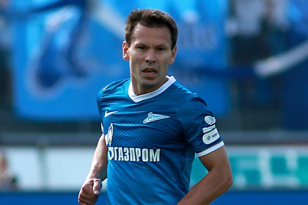 Константин Зырянов (полузащитник, 39 лет) — играющий тренер «Зенита-2».