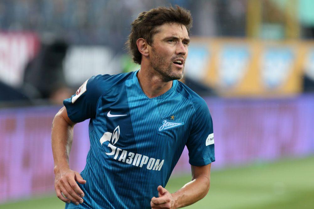 Юрий Жирков (защитник, 33 года) — выступает за «Зенит».