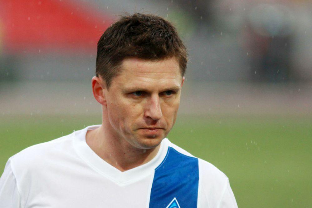 Игорь Семшов (полузащитник,39 лет) — в сезоне 2016/17 — тренер тульского «Арсенала».