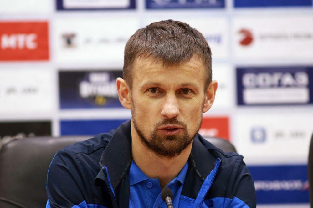 Сергей Семак (полузащитник, 41 год) — главный тренер ФК «Уфа».