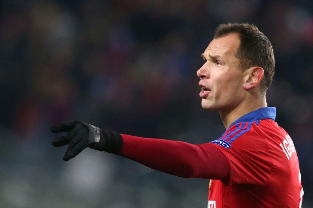 Сергей Игнашевич (защитник, 37 лет) — выступает за ЦСКА.