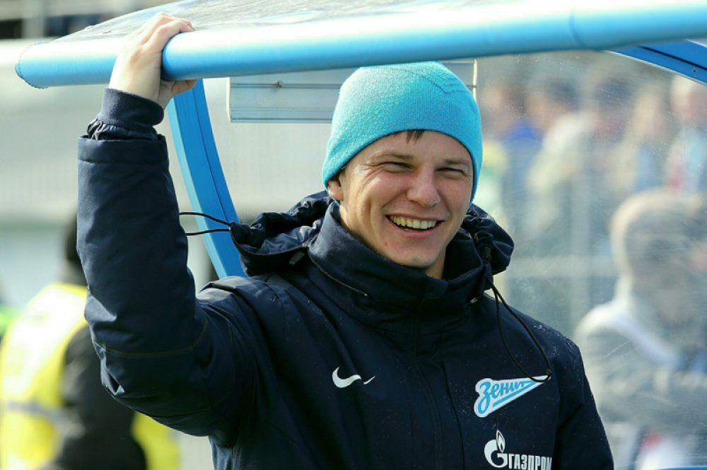 Андрей Аршавин (нападающий, 36 лет) — выступает за казахстанский «Кайрат».
