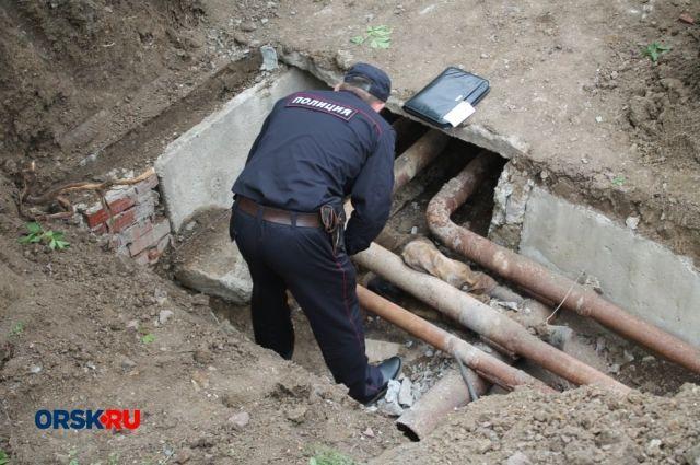 Труп неизвестной орчанки найден на теплотрассе