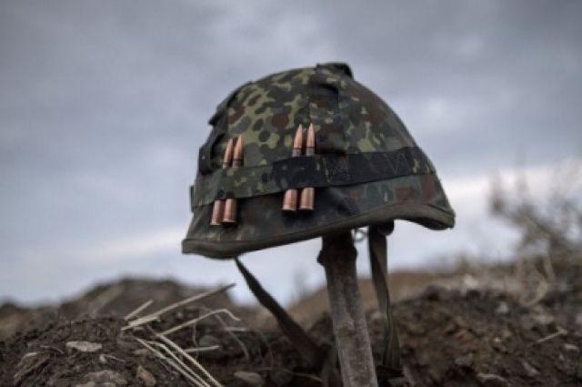 Украинский военный подорвался на мине