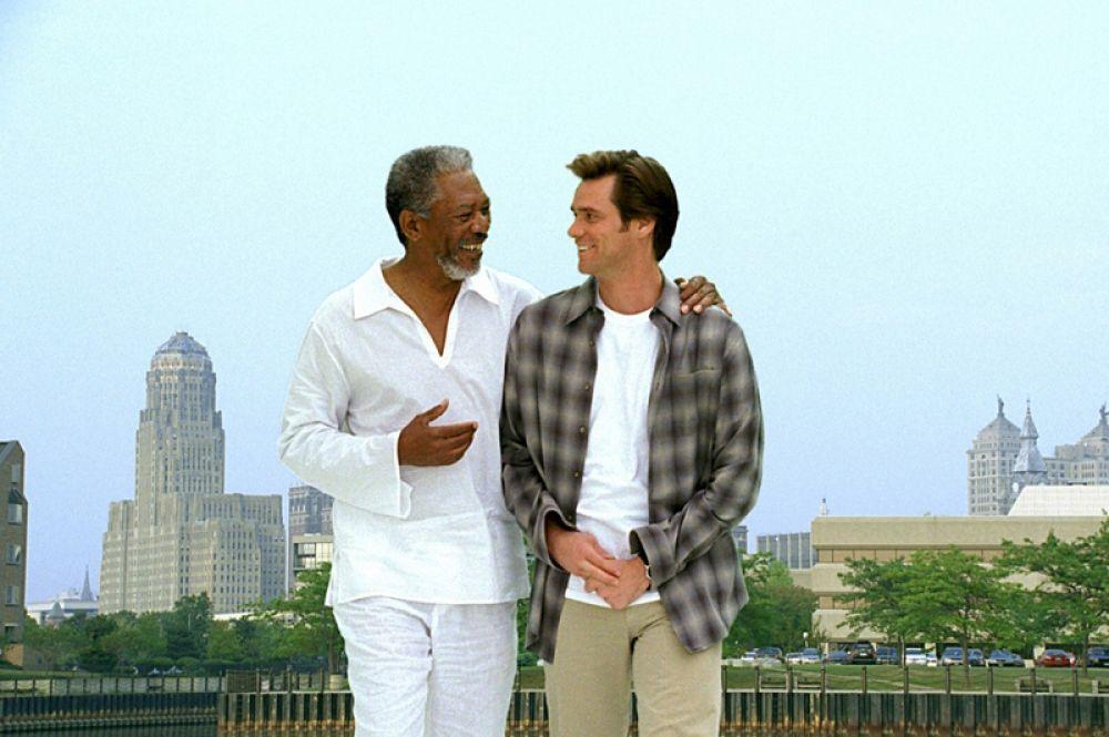 В фильмах «Брюс Всемогущий» (2003) и «Эван Всемогущий» (2007) Морган исполнил роль бога.