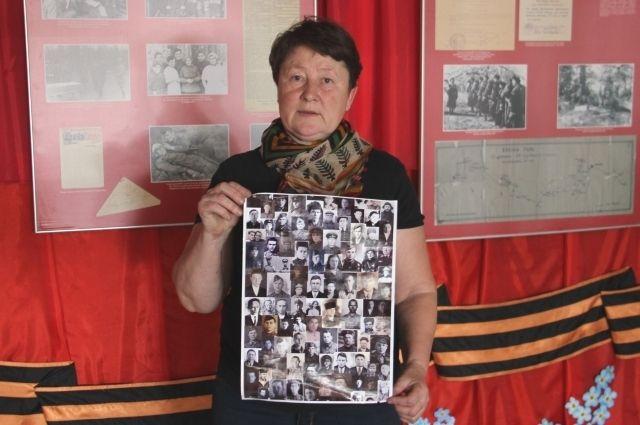 Фотографии заларинцев-фронтовиков, которые удалось разыскать, Галина Макогон называет «Мой бессмертный полк».