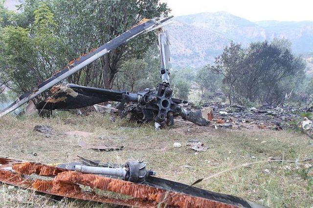 В Турции разбился самолет с высокопоставленными военными