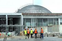 Новая часть пассажирского терминала Храброво заработала в тестовом режиме.