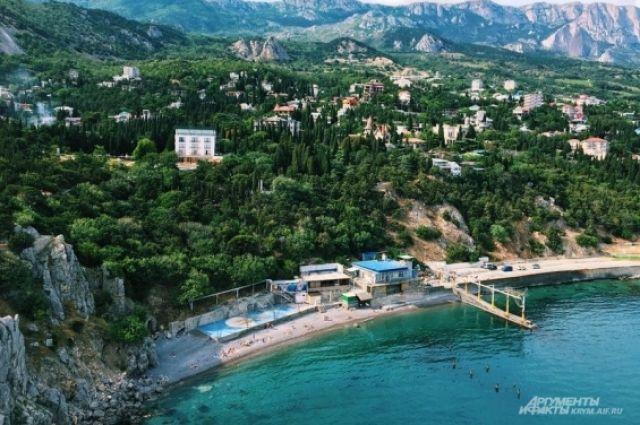 Первая группа туристов из Англии посетила Крым