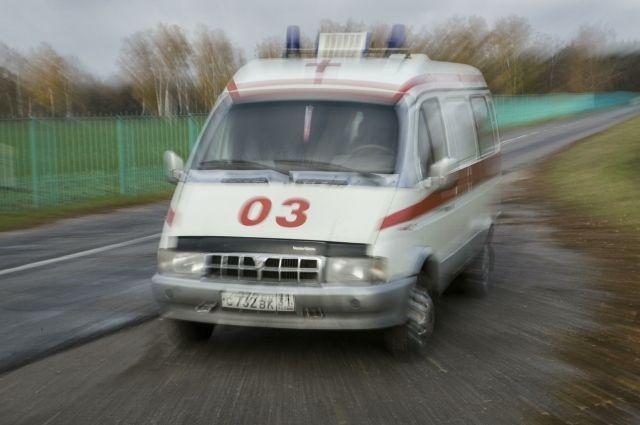 Под Брянском умер мотоциклист, столкнувшийся с 2-мя легковушками