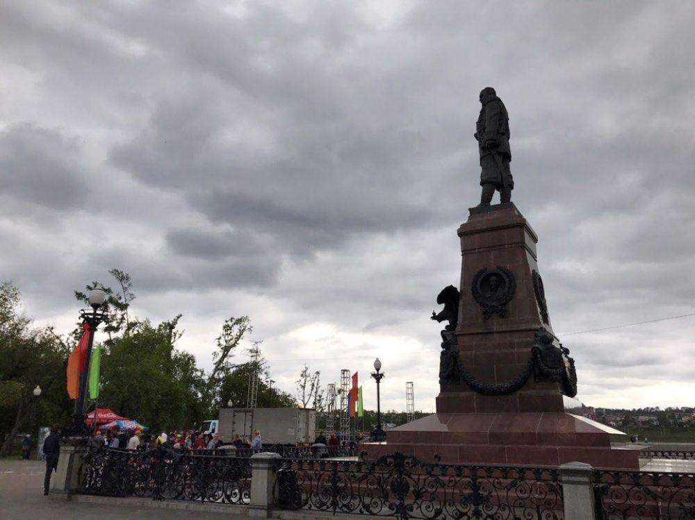 В Иркутске 1 июня холодно, возможны дожди и грозы, а воздух прогреется всего до +15 градусов.