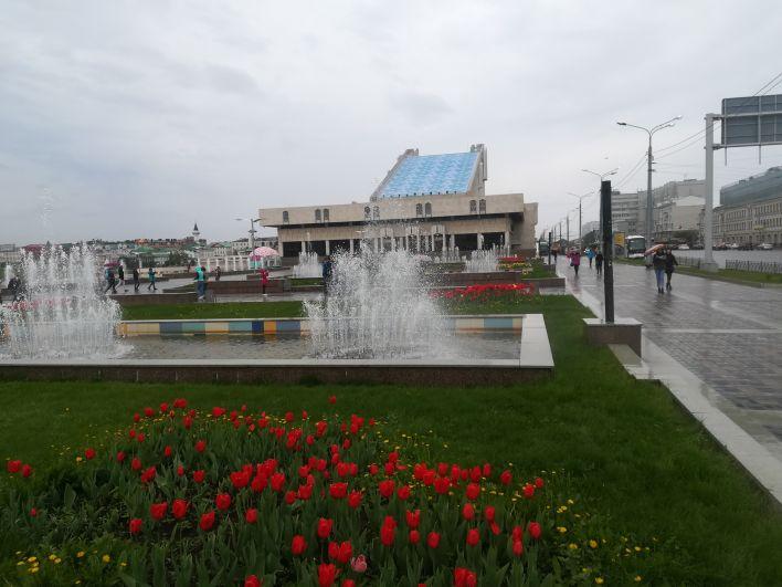 В Казани на 1 июня объявлено штормовое предупреждение, скорость ветра может достигать 20 м/с, при этом воздух прогреется до +24 градусов.