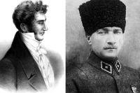 Иван Козлов и Мустафа Кемаль Ататюрк.