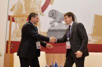 Глава Ямала Дмитрий Кобылкин и руководитель Федерального агентства научных организаций Михаил Котюков провели рабочую встречу.