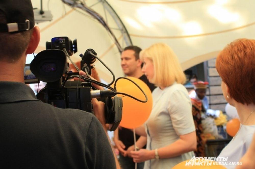 Праздник посетила вице-губернатор Краснодарского края Анна Минькова.