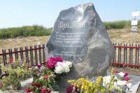 Все что от неё осталось от деревни Брынка - могильный камень.