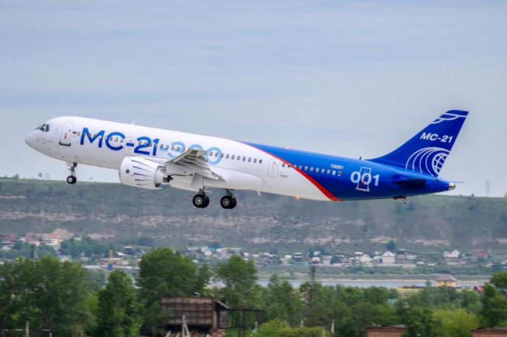 Первый полет МС-21 совершил 28 мая 2017 года.
