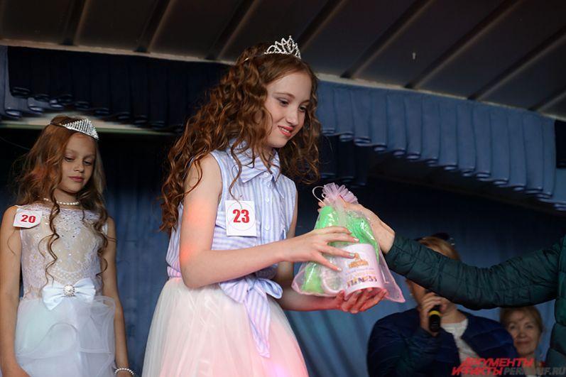 Полина Смолякова победила в старшей возрастной группе.