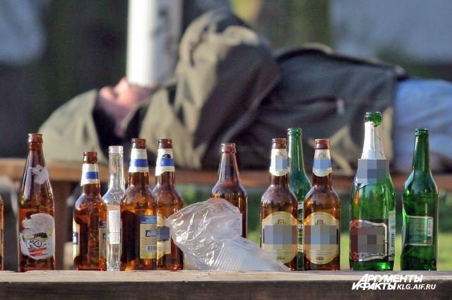 ВКалининграде строитель осколком бутылки зарезал приятеля
