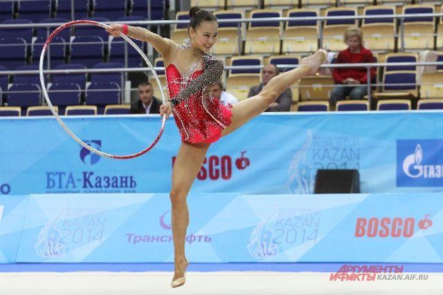 Пензенские гимнастки взяли «золото» наэтапе кубка мира вИспании