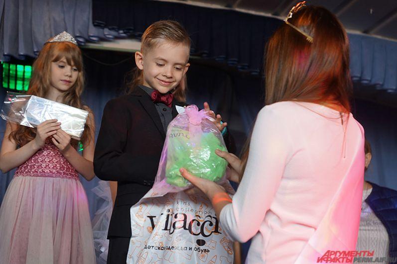 Отдельный награду взял представитель мужского пола на конкурсе.