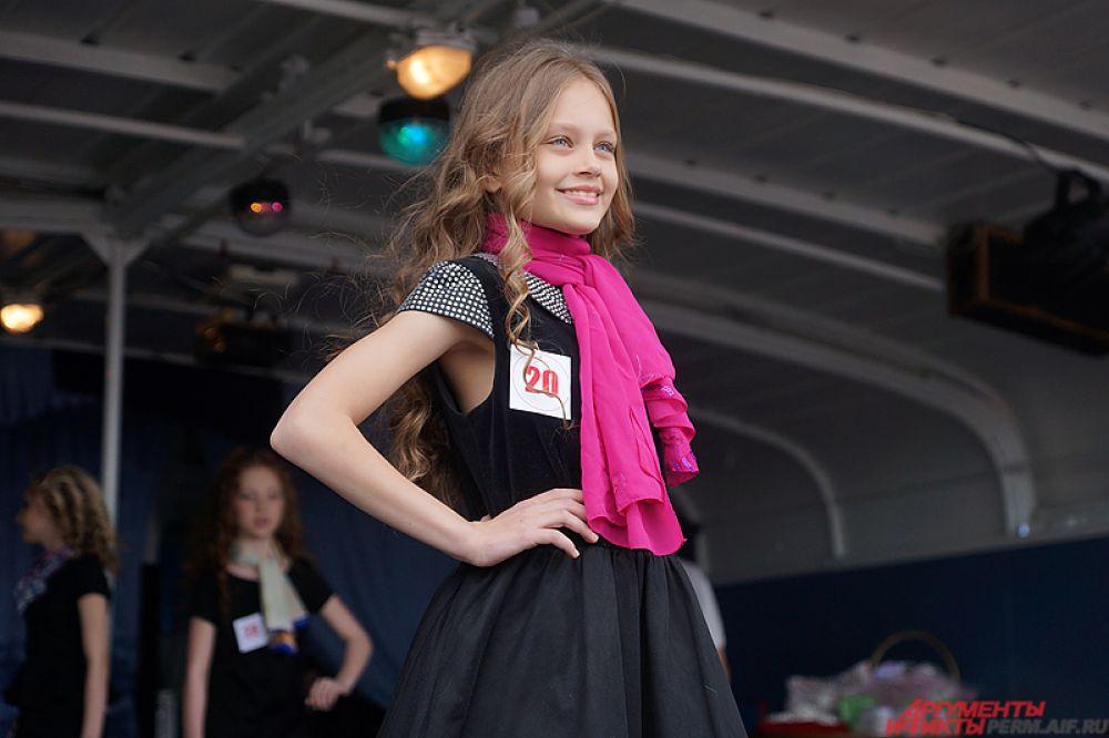 Победительница конкурса в прошлом году Валерия Гуменюк.