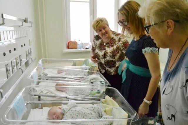 В Ишиме родились тройняшки, за последние десять лет это первый случай