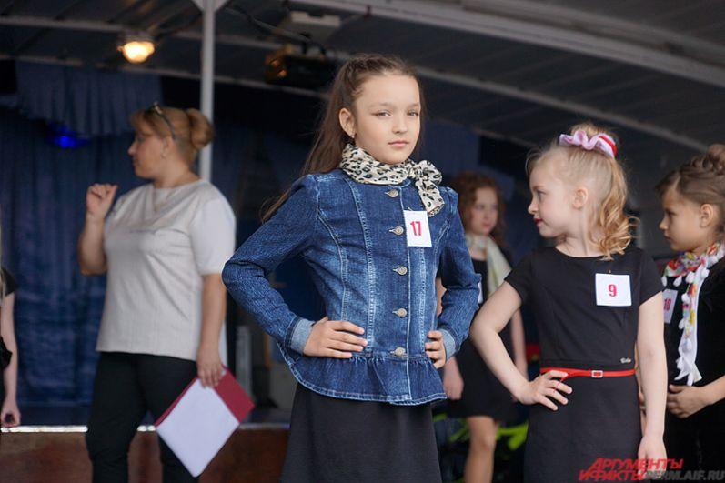 В Перми определили самых красивых детей-моделей.