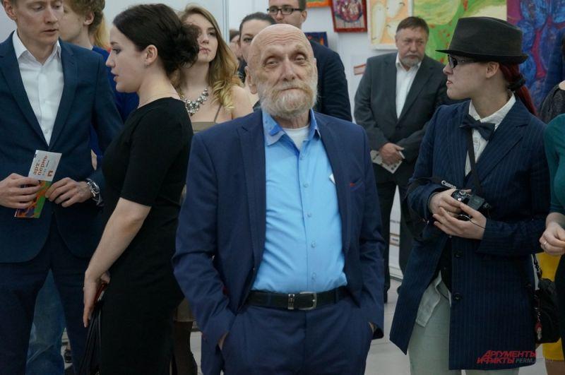 Пермский художник Юрий Лапшин.