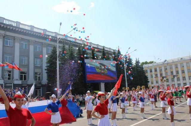 12 июня в Кемерове празднуют День города и День России.