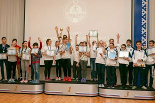 На Ямале 48 школьников, соревновались в сдаче нормативов ГТО.